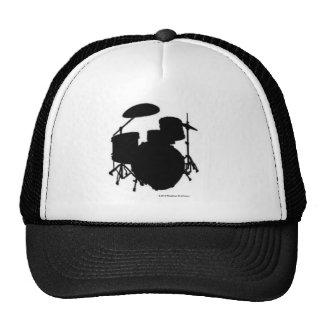 Drum Set Black Hat