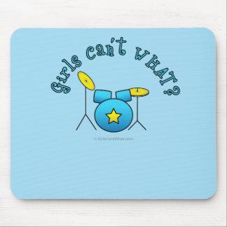 Drum Set - Blue Mousepads