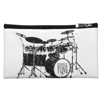 Drum Set Case Sleeve Cosmetic Bag