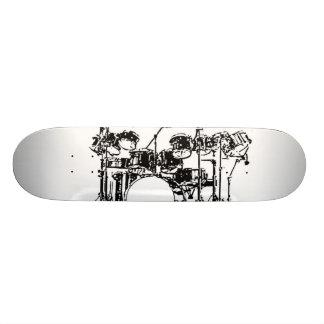 Drum Set Custom Skateboard