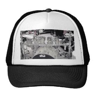 Drum set drawing cap