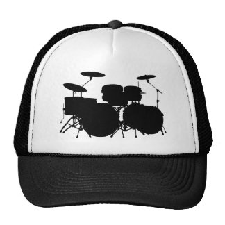 Drum Set Mesh Hats