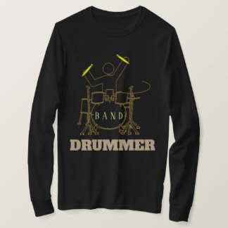 Drum Set Men's Basic Long Sleeve T-Shirt
