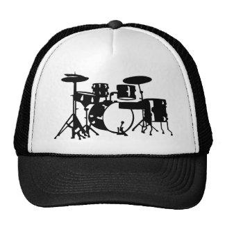 Drum set percussion hat