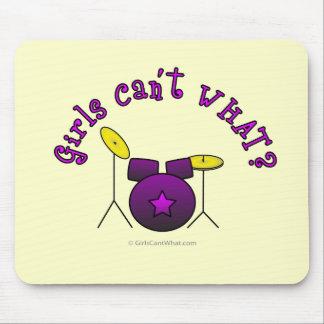 Drum Set - Purple Mousepads