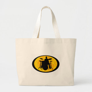 Drum To It Large Tote Bag
