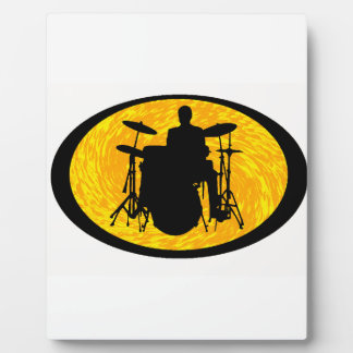 Drum To It Plaque