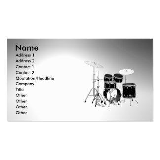 drum_vibeman business card templates