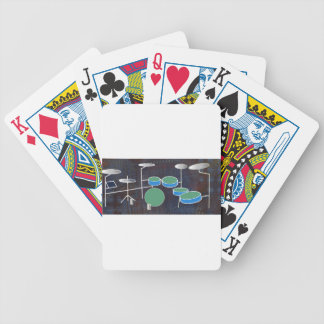 Drum World Bicycle Playing Cards