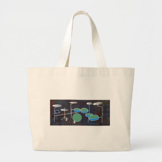 Drum World Large Tote Bag