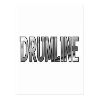 Drumline Chrome Postcard