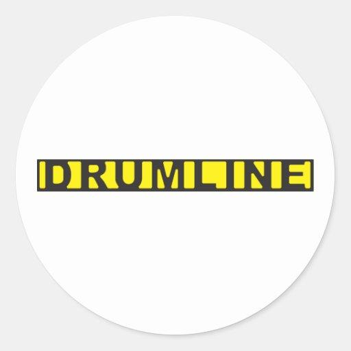 Drumline Crime Scene Tape Stickers