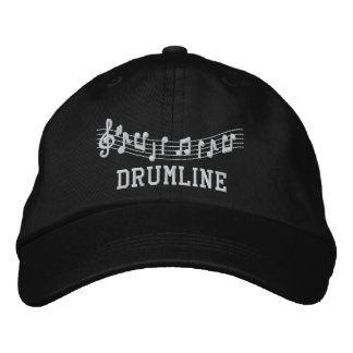 Drumline Embroidered Music Hat Baseball Cap