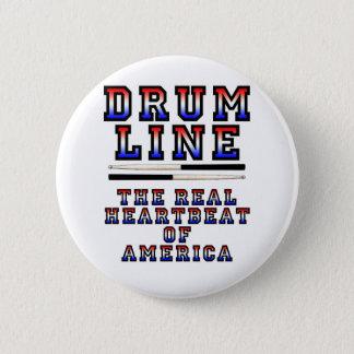Drumline Heart Beat 6 Cm Round Badge