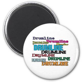 Drumline Multi 6 Cm Round Magnet