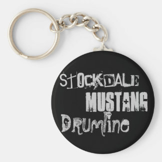 Drumline, Mustang, Stockdale Keychain