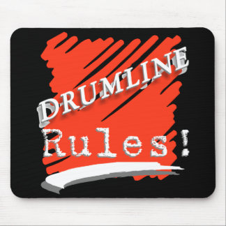Drumline rules mouse pad