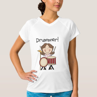 Drummer - Female Tshirts and Gifts