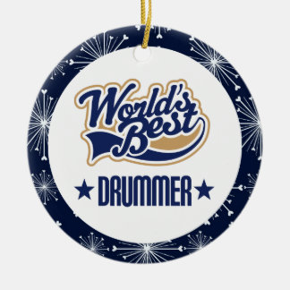 Drummer Gift Ornament