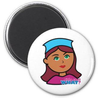 Drummer Girl Magnets