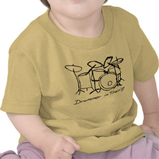 Drummer in Training T Shirts