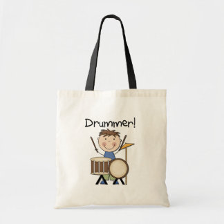 Drummer - Male Tshirts and Gifts Tote Bags