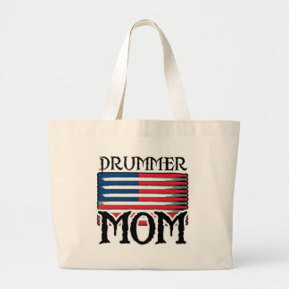 Drummer Mom Tote Bag