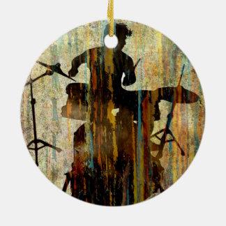 Drummer ornament 1, Copyright Karen J Williams