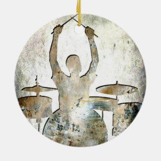 Drummer ornament 4, Copyright Karen J Williams