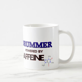 Drummer Powered by caffeine Coffee Mug