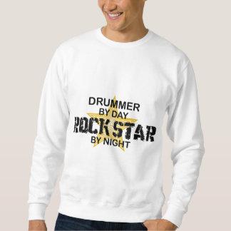 Drummer Rock Star by Night Sweatshirt