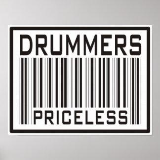 Drummer s Priceless Poster