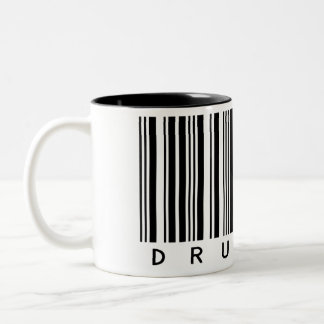 Drummer Two-Tone Coffee Mug
