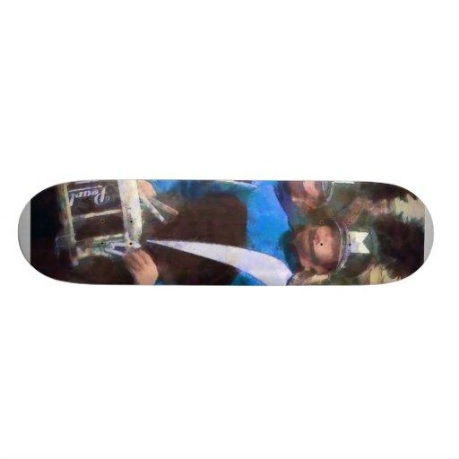 Drummers Skate Deck