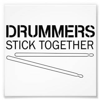 Drummers Stick Together Photo