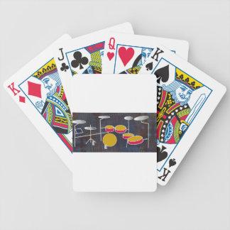 Drumming Fun! Bicycle Playing Cards