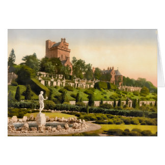 Drummond Castle Perthshire Scotland Card