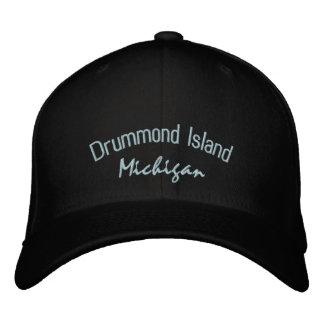 Drummond Island Michigan Embroidered Hat
