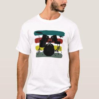 Drums and Stripes Retro Color Scheme Shirt