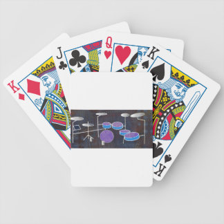 Drums Bicycle Playing Cards