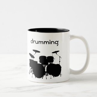 Drums Design Coffee Mug
