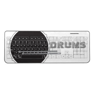 Drums Drummer Percussion Punk Rock Music Cool Wireless Keyboard