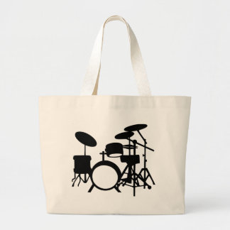Drums Large Tote Bag