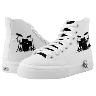 Drums Music Design Personal Printed Shoes