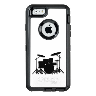 Drums Music Design Shower Curtain OtterBox iPhone 6/6s Case