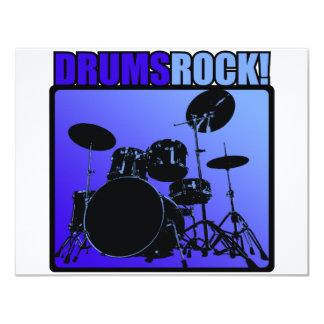 Drums Rocks! Card