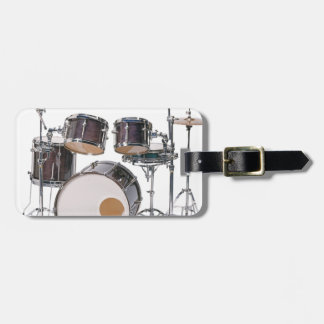 Drums Tools Percussion Music Concert Luggage Tag