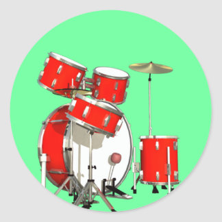 Drumset Stickers