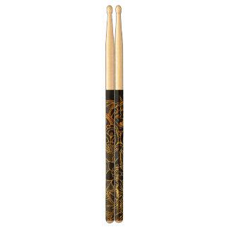 Drumsticks Floral Doodle Gold G523