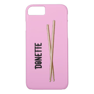 Drumsticks iphone 7 Case Drummers Your Color, Name